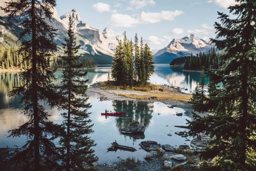Spirit Island / Maligne Lake