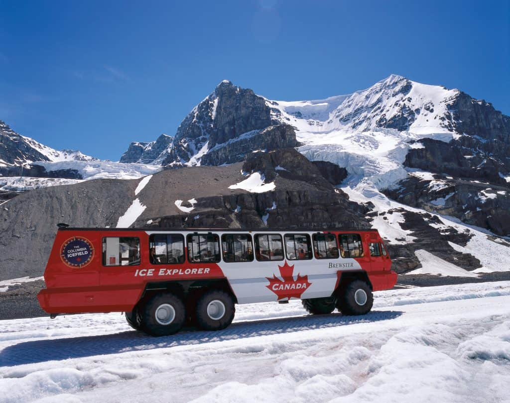Ice Explorer at the Athabasca Glacier, Columbia Icefields