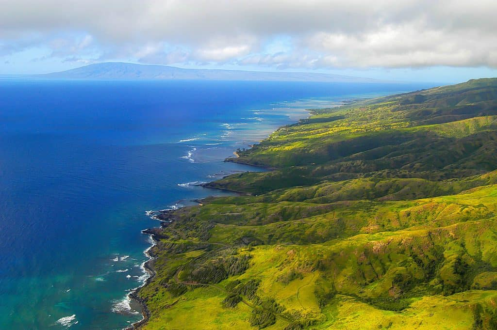 Maui Aerial Scene